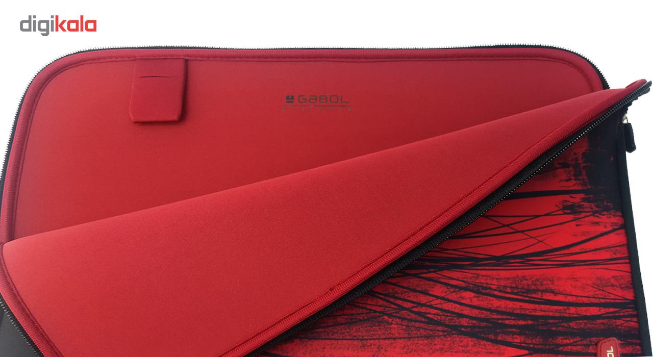 کاور لپ تاپ گابل مدل Chrome مناسب برای لپ تاپ 15.6 اینچی