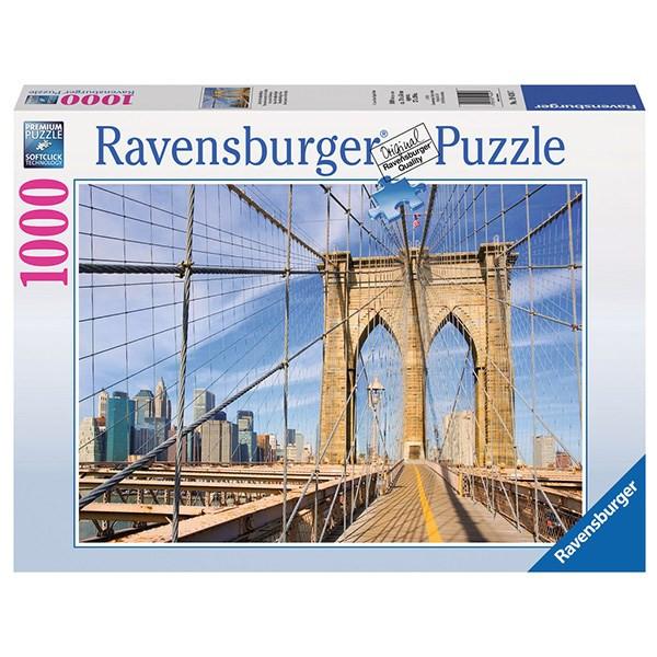 پازل 1000 تکه راونزبرگر مدل Brooklyn Bridge View 194247