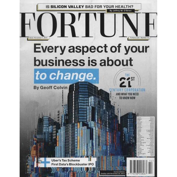 مجله فورچن - یکم نوامبر 2015