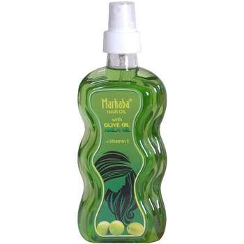 روغن مو ضد ریزش و تقویت کننده مرحبا مدل Olive Oil حجم 175 میلی لیتر