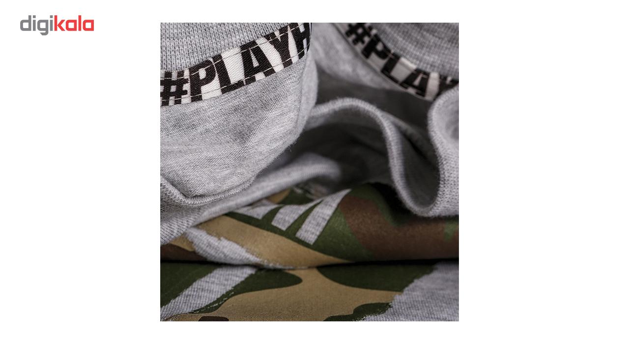 تیشرت مردانه ترِک ویر مدل 013 Play Hard