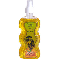روغن مو ضد ریزش و تقویت کننده مرحبا مدل Almond Oil حجم 175 میلی لیتر