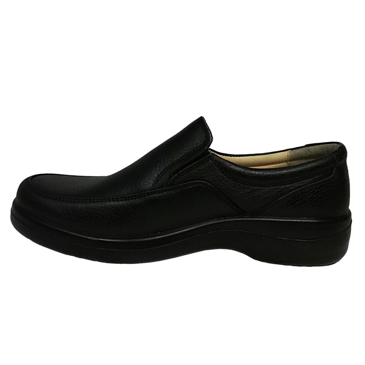 کفش مردانه مدل سورنا همراه با واکس