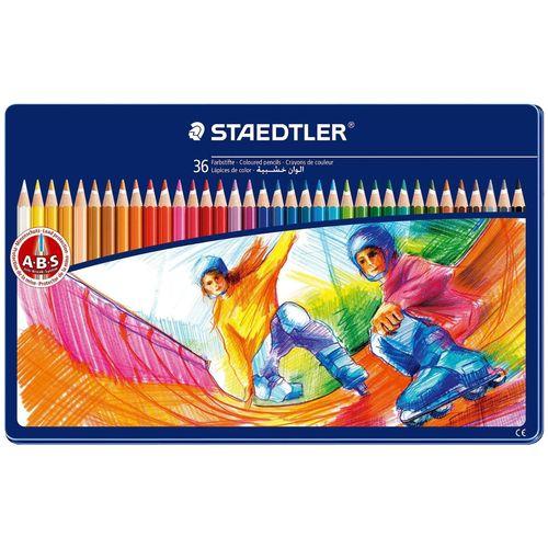 مداد رنگی 36 رنگ استدلر مدل  145 SPM36
