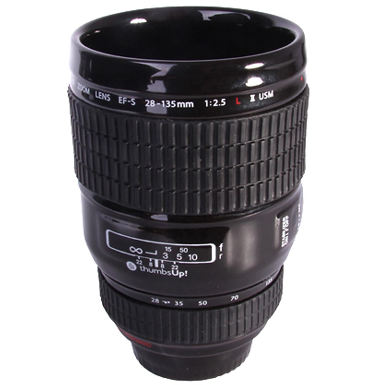 عکس ماگ تامز آپ مدل Camera Lens