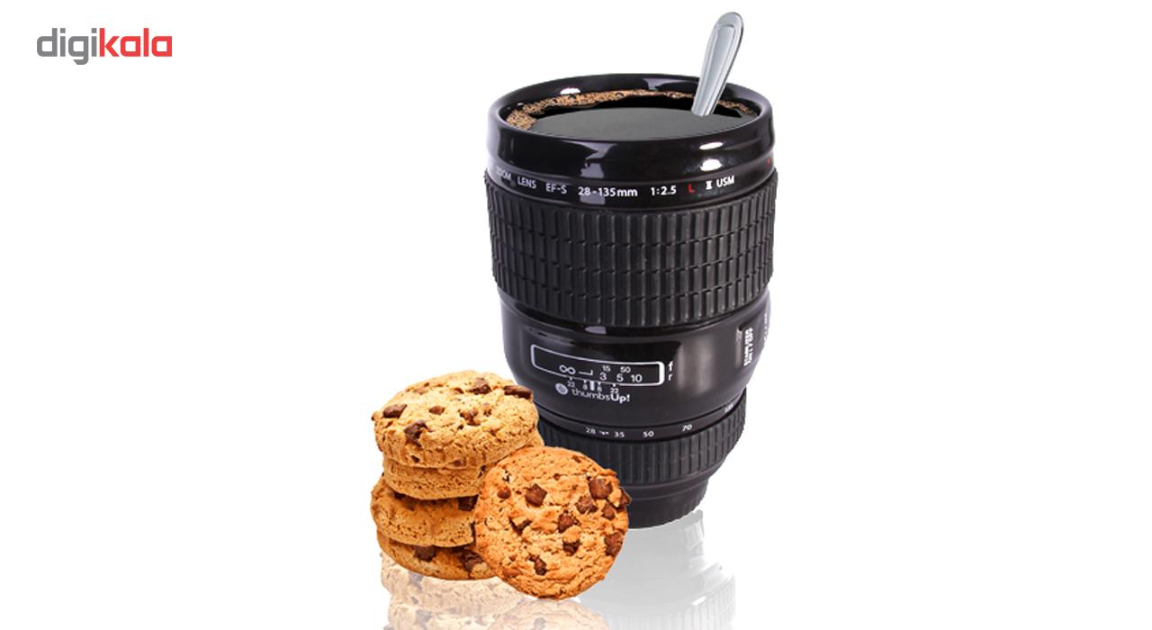 ماگ تامز آپ مدل Camera Lens