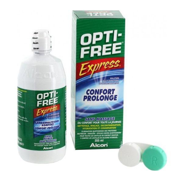مایع لنز opti-free
