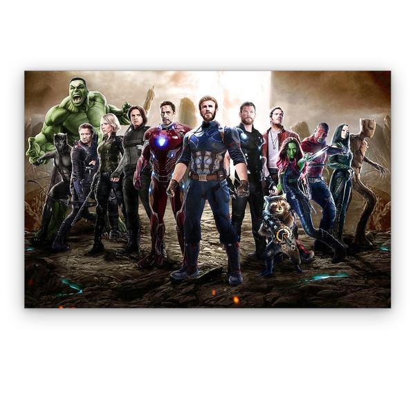 تابلو شاسی دکوماس طرح انتقام جویان کد Avengers DMS-T149