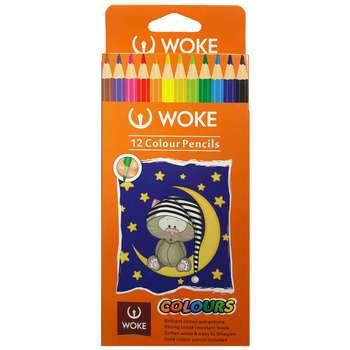 مداد رنگی 12 رنگ وک مدل colours