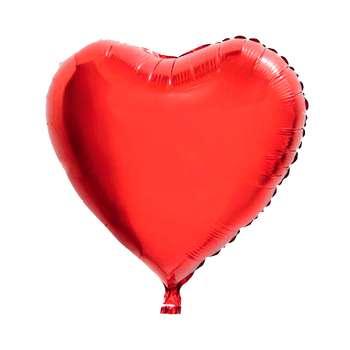 بادکنک فویلی قلب قرمز سایز 45*45 سانتی متر