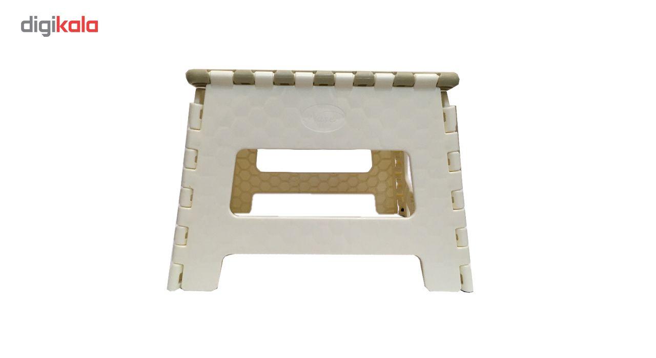 صندلی تاشو ناصر پلاستیک مدل Simple سایز کوچک main 1 5