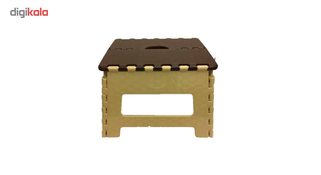 صندلی تاشو ناصر پلاستیک مدل Simple سایز کوچک main 1 3