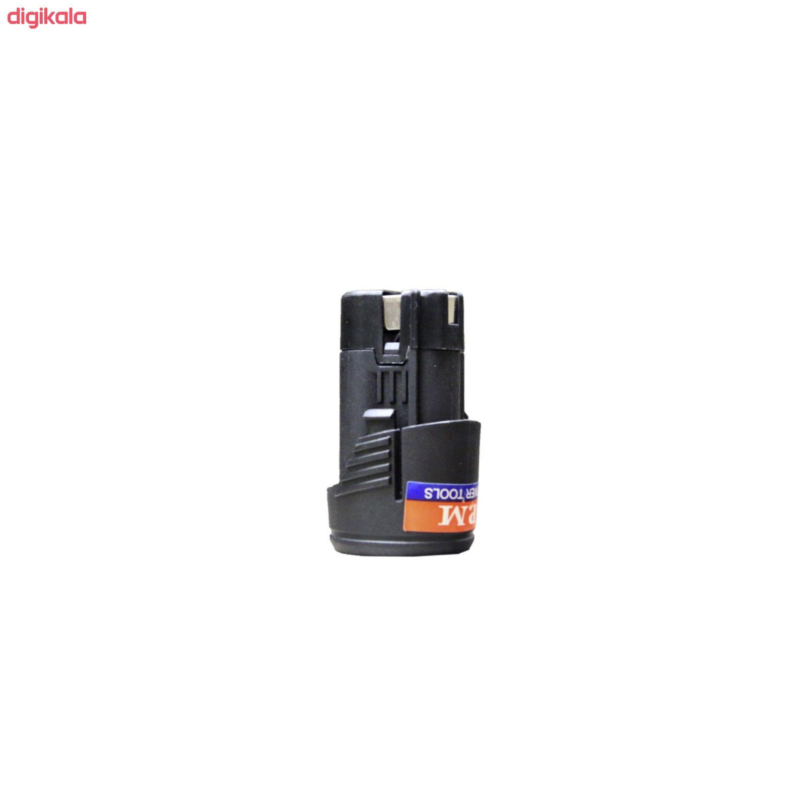 باتری 12 ولت دریل پیچ گوشتی شارژی پی ام مدل CE1 main 1 1