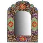 آینه سنتی خاتم کاری طرح تذهیب اثر سارنج کد 306051