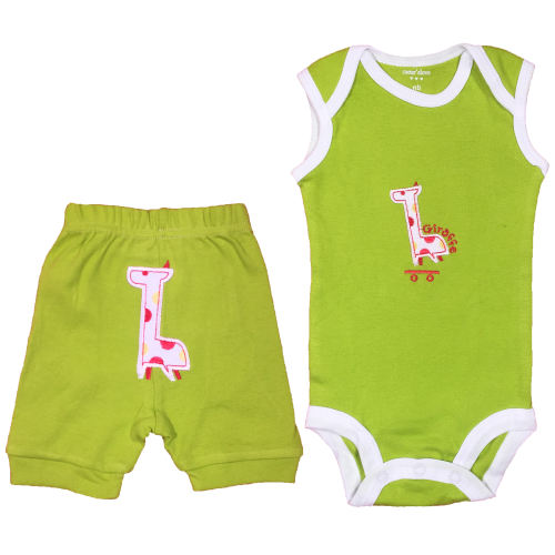 ست لباس نوزادی پسرانه کارترز مدل 10055-2