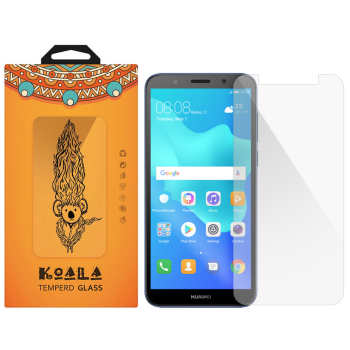 محافظ صفحه نمایش شیشه ای کوالا مدل Tempered مناسب برای گوشی موبایل هوآوی Y5 Prime 2018