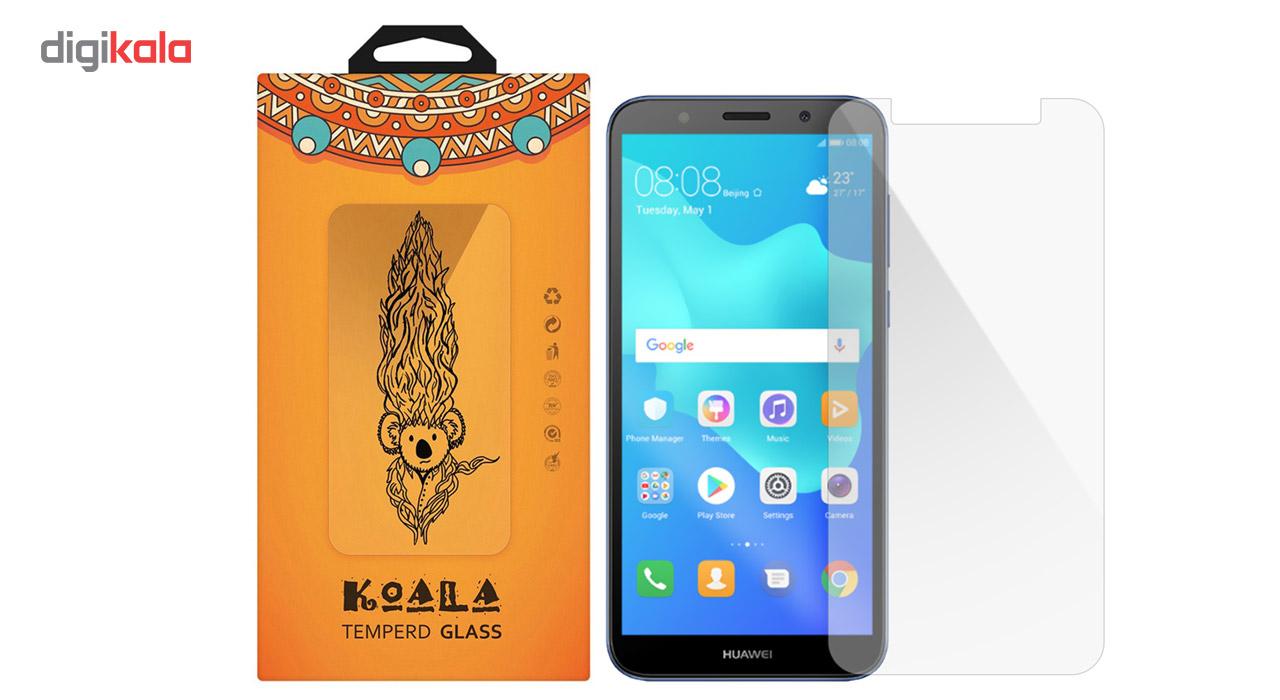 محافظ صفحه نمایش شیشه ای کوالا مدل Tempered مناسب برای گوشی موبایل هوآوی Y5 Prime 2018 main 1 1