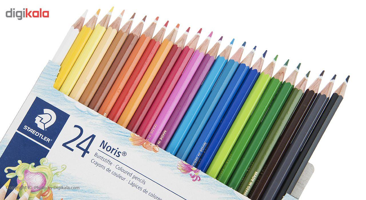 مداد رنگی 24 رنگ استدلر مدل Noris Club main 1 9