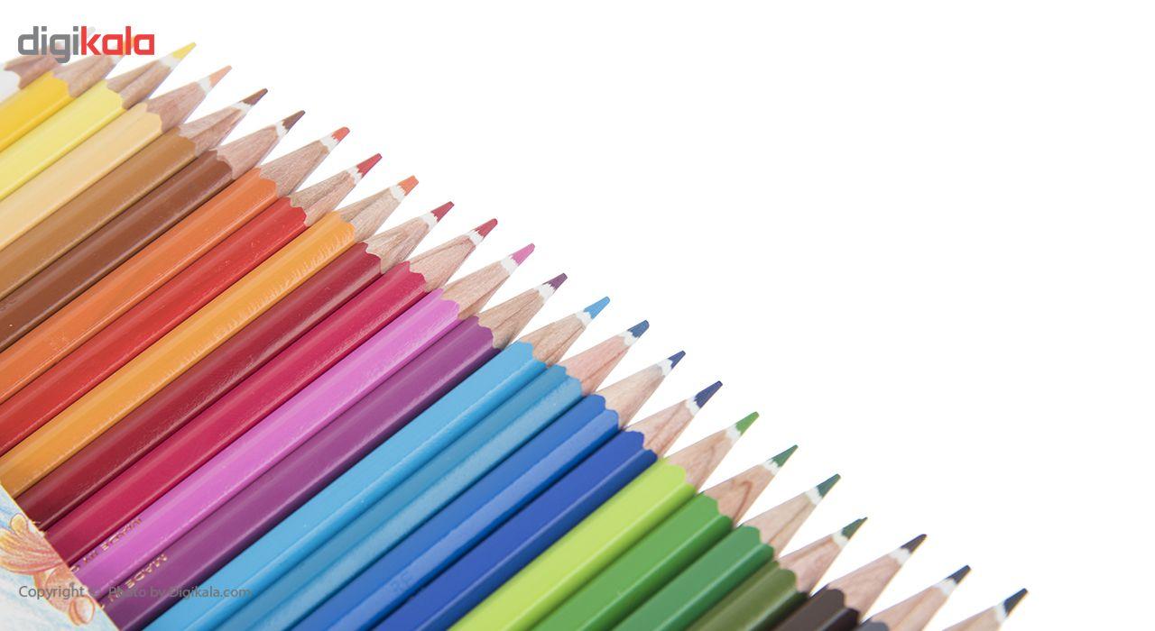 مداد رنگی 24 رنگ استدلر مدل Noris Club main 1 10