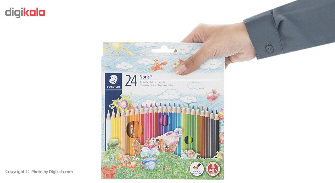 مداد رنگی 24 رنگ استدلر مدل Noris Club main 1 12