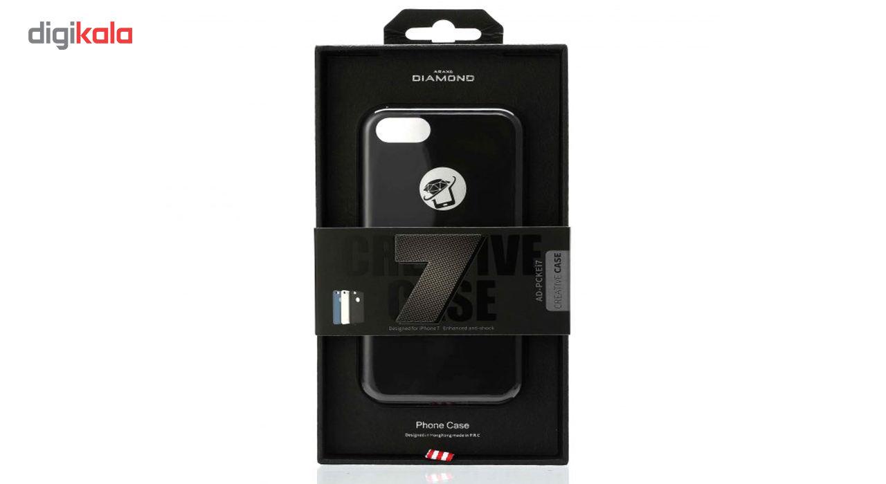 کاور سیلیکونی دیاموند مناسب برای گوشی موبایل آیفون 7 main 1 4