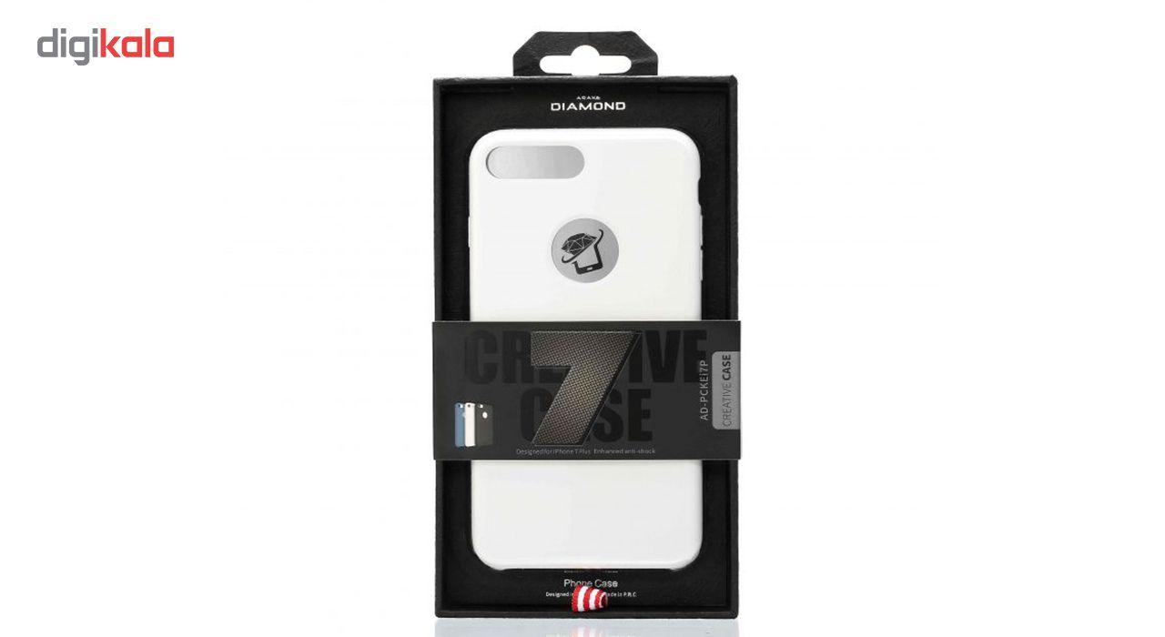 کاور سیلیکونی دیاموند مناسب برای گوشی آیفون 7 پلاس main 1 3