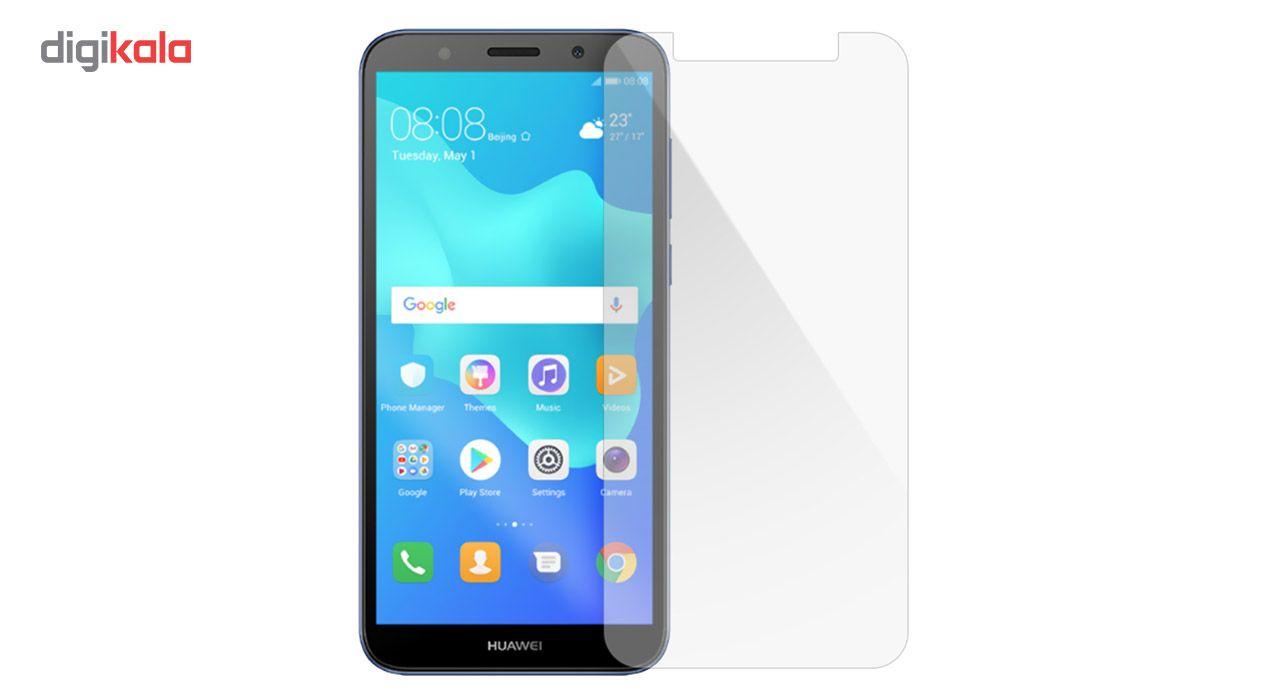 محافظ صفحه نمایش شیشه ای مدل Tempered مناسب برای گوشی موبایل هوآوی Y5 Prime 2018 main 1 1