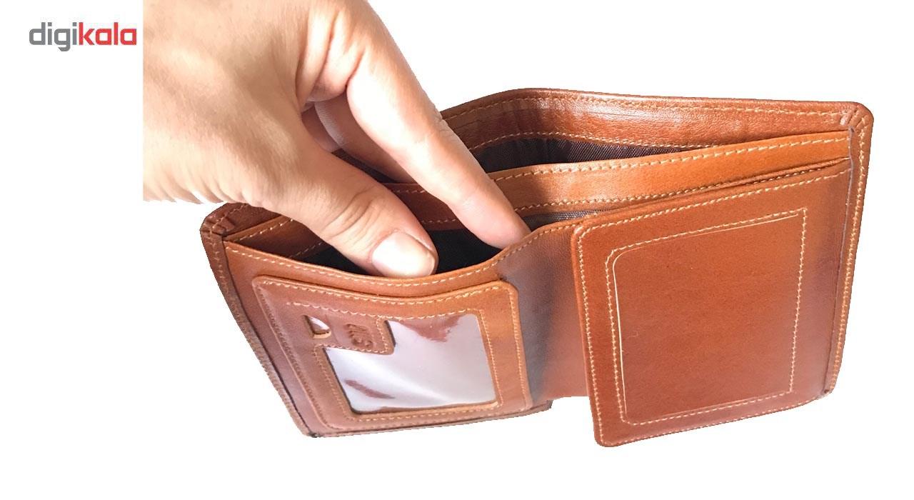 خرید                                      کیف پول چرم رایا مدل Ghazal