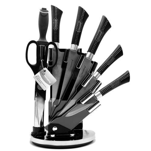 ست چاقو آشپزخانه 8 پارچه مدل هومکینگ کد M-H