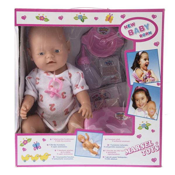 عروسک مارسل تویز مدل New Baby Born سایز متوسط