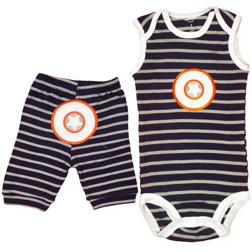 ست لباس نوزادی پسرانه کارترز مدل 10055-11