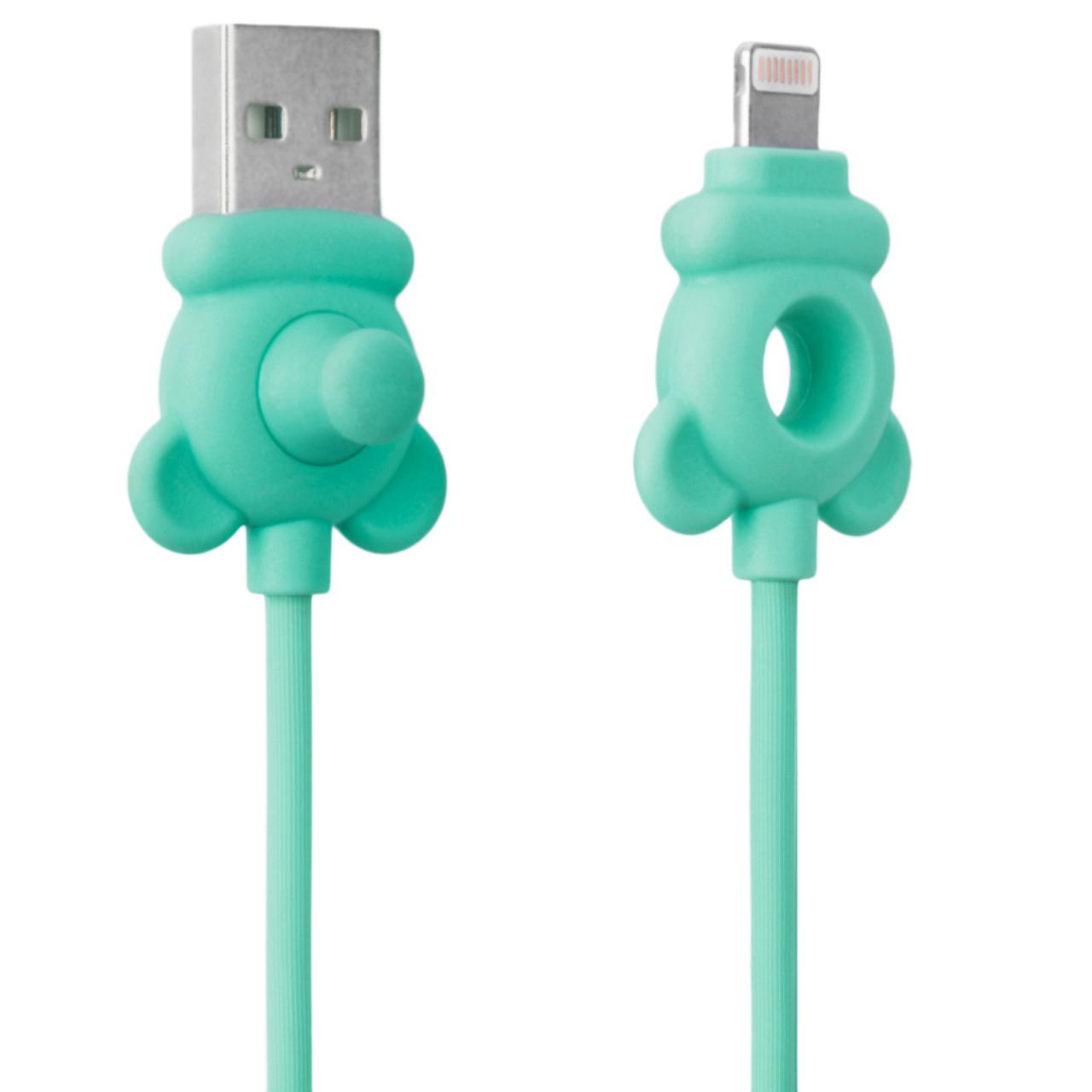 کابل تبديل USB به لايتنينگ رسي مدل RCL-I100 Miki طول 1 متر