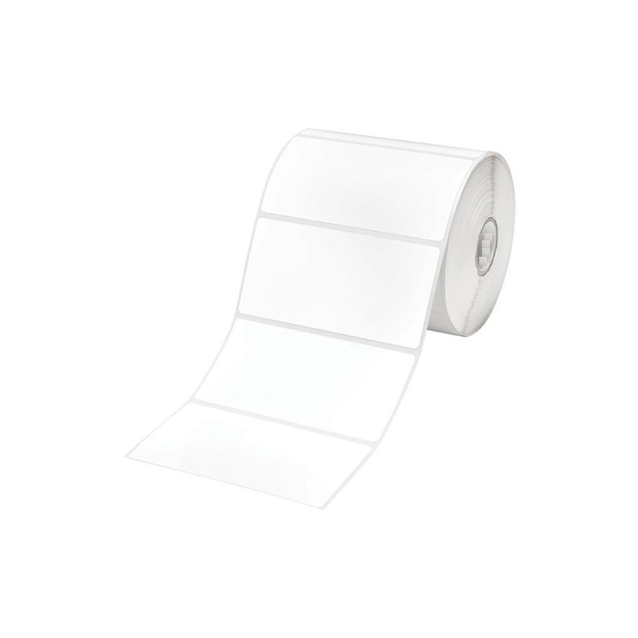 برچسب پرینتر لیبل زن اپسون مدل High Gloss Label  Die-cut Roll 76mm x 51mm