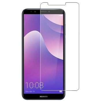 محافظ صفحه نمایش شیشه ای مدل Tempered مناسب برای گوشی موبایل هواوی Y6 Prime 2018