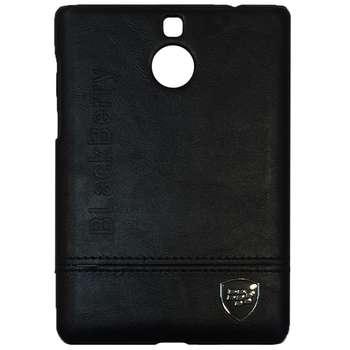 کاور چرمی مدل Hard Case مناسب برای گوشی موبایل بلک بری Passport Silver Edition