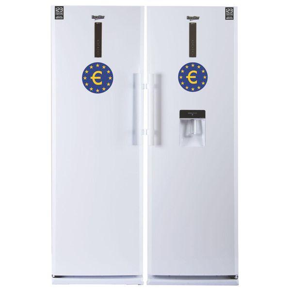 یخچال و فریزر دوقلوی یورواستار مدل EYP-15 | EuroStar EYP-15 Refrigerator-Freezer