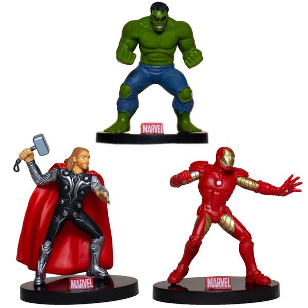 ست فیگور مارول مدل Avengers بسته 3 عددی