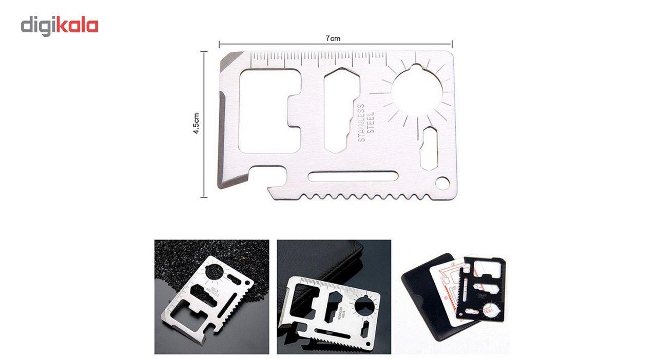 مجموعه ابزار چندکاره کارتی مدل STE main 1 2