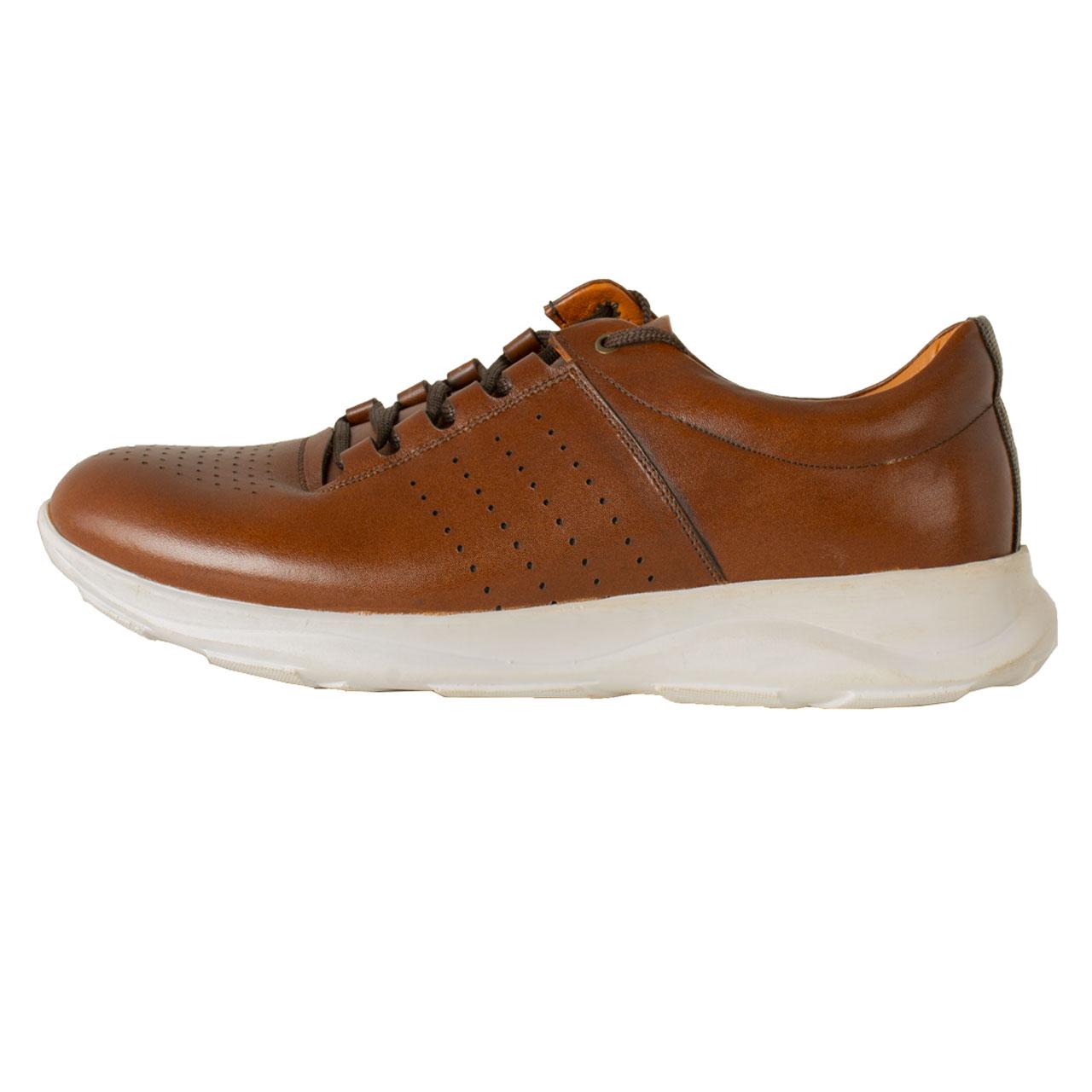 PARINECHARM leather men's casual shoes , SHO176 Model