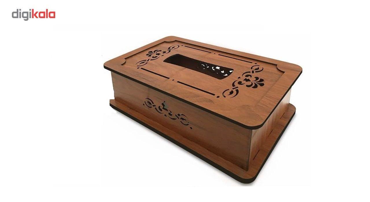 جعبه دستمال کاغذی چوب آرا مدل پنج لایه main 1 1