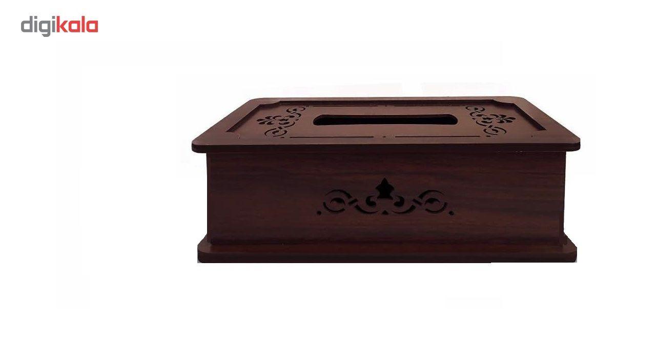جعبه دستمال کاغذی چوب آرا مدل پنج لایه main 1 2
