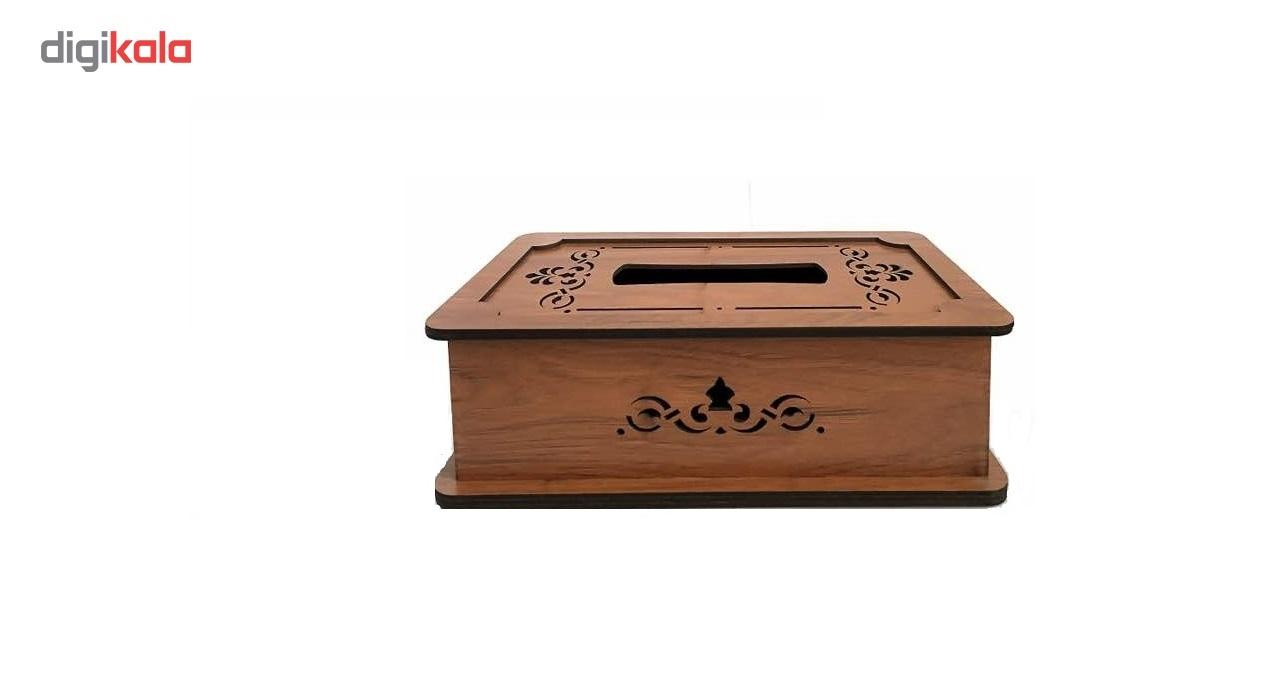 جعبه دستمال کاغذی چوب آرا مدل پنج لایه main 1 3