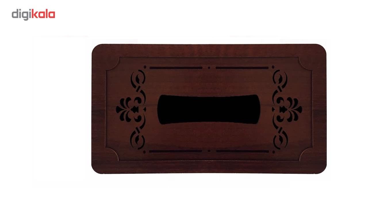 جعبه دستمال کاغذی چوب آرا مدل پنج لایه main 1 4