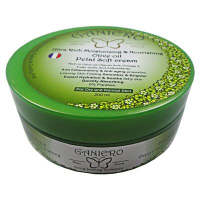 کرم مرطوب کننده و مغذی گانیرو مدل Olive حجم 75 میلی لیتر
