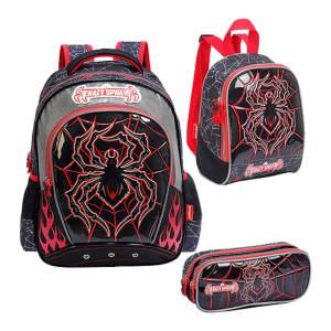 کیف و کوله پشتی مدرسه مدل Crazy Spider CCRS0802109