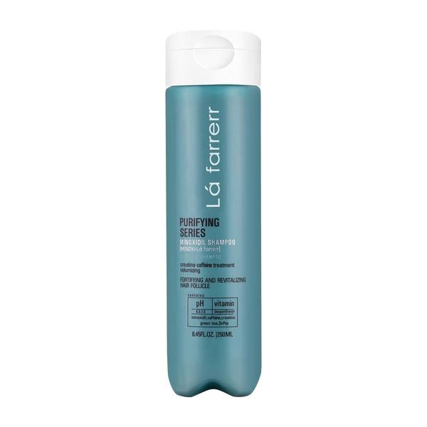 شامپو ضد ریزش لافارر مدل Minoxi For Oily Hair حجم 250 میلی لیتر