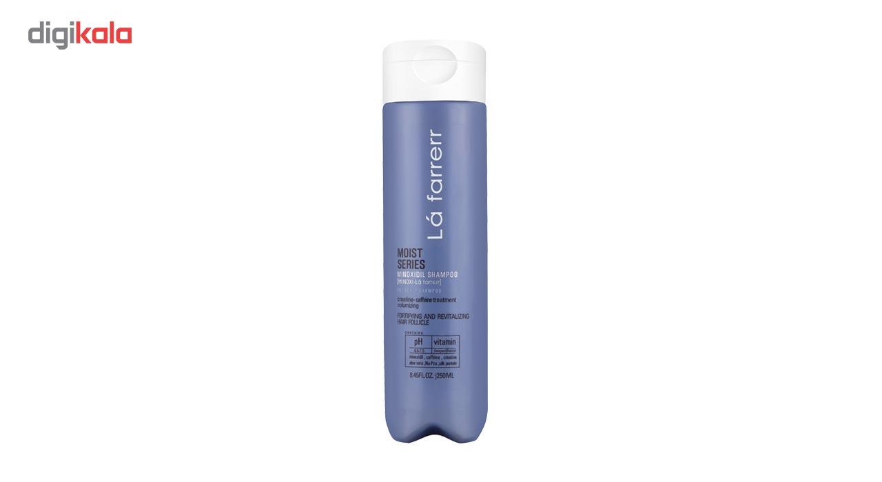 شامپو ضد ریزش لافارر مدل Minoxi For Dry Hair حجم 250 میلی لیتر
