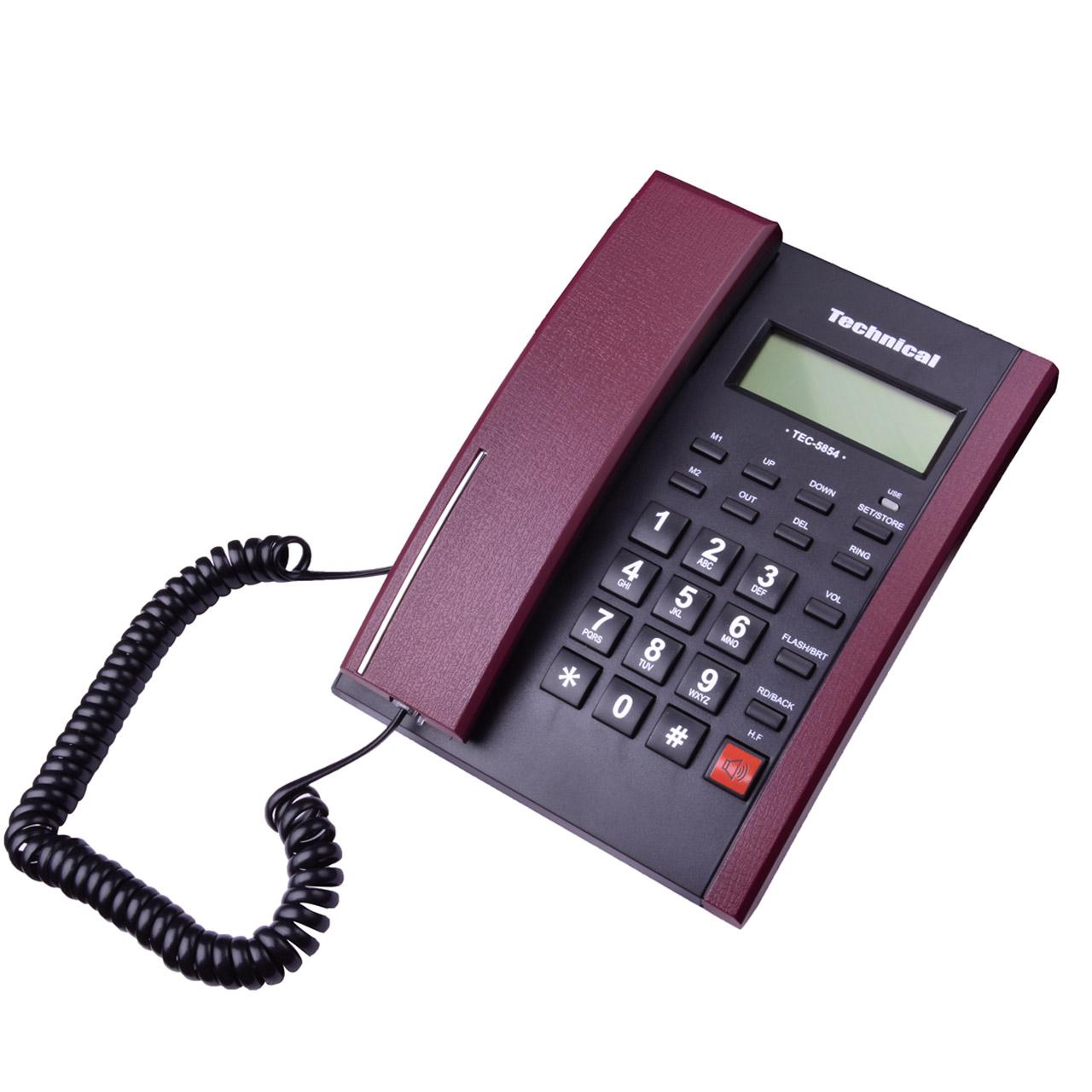 تلفن تکنیکال مدل TEC-5854
