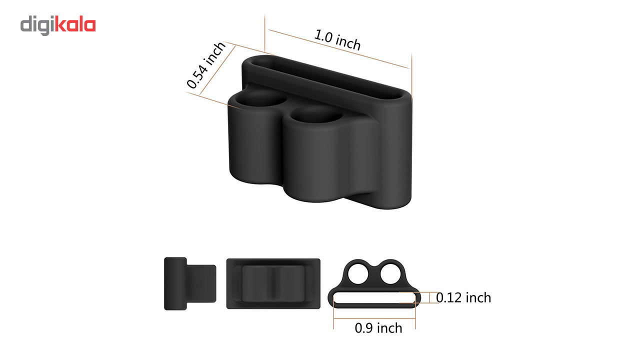 نگهدارنده سیلیکونی مدل Wristlet مناسب برای هدفون ایرپاد main 1 3