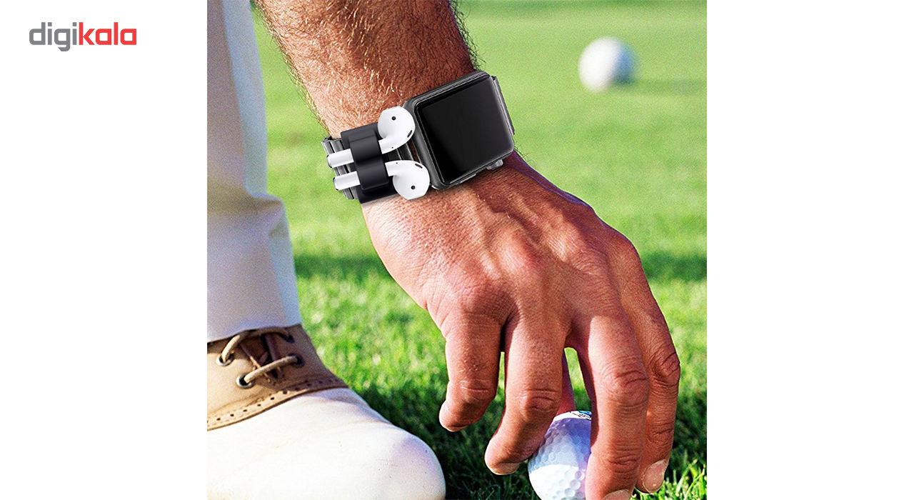 نگهدارنده سیلیکونی مدل Wristlet مناسب برای هدفون ایرپاد main 1 4